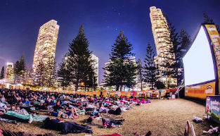 Openair Cinema Gold Coast